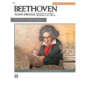 Pianosonater Volym 1 Nr 18 av kompositören Ludwig van Beethoven & Av kompositören Professor Emeritus Stewart Gordon