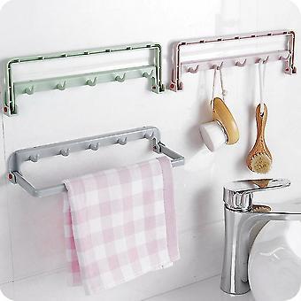 Coller dans l'armoire murale Bâton Cuisine Porte de salle de bain Rangement Rack multifonction