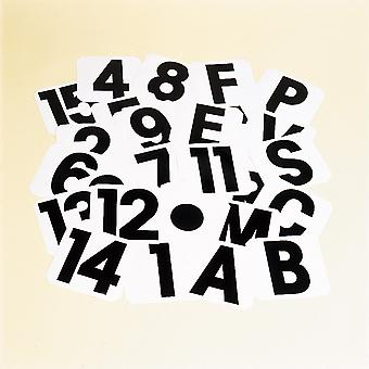 Stubbs Number 6 Self-Adhesive Label