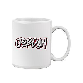 Jordan Text Mug -SPIdeals Designs