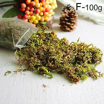 20G/50g/100g high quality artificial moss simulation fake green plants moss home decorative wall diy micro landscape accessories