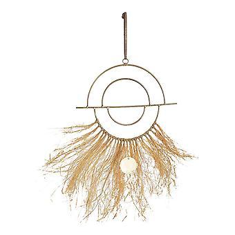 Hengende dekorasjon DKD Home Decor Boho Metal (55 x 24,5 x 0,5 cm)