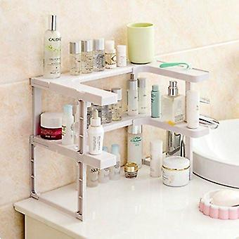 Multifunction Stackable Kitchen Shelf Organizer Shelves For Spices   Tiers  Holders & Racks