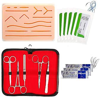 Training Skin Operate Needle Scissors Tool Set