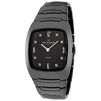 Skagen Women's Classic Black Dial Watch - 914SBXC
