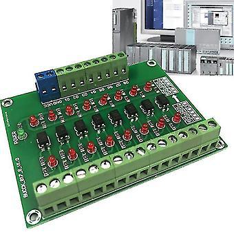 Motherboards f19e 8 channel 8bit photoelectric isolation module level voltage converter pnp output plc signal