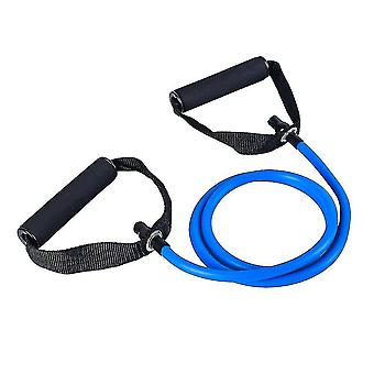 Exercise bands premium fitness elastic bands for home or office workouts blue