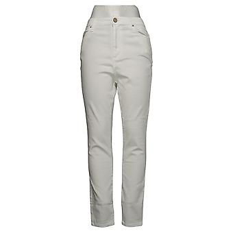 We By Living In Yellow Women's Jeans Jegging White 744201
