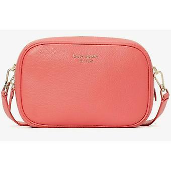 Kate Spade Astrid Oval Crossbody Leather Bag Peach Melba PXR00437