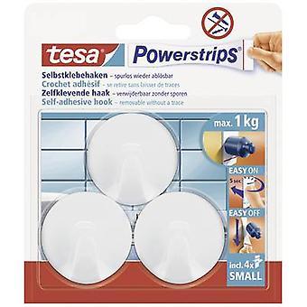 tesa 57577-00-02 Tesa ® Kroker Liten rundtur Hvitt innhold: 3 stk.)