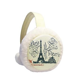 Eiffel Paris R Korvanlämmitin