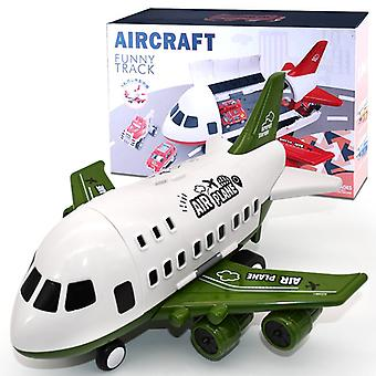 Grand modèle de jouet d'avion pour enfants Vert