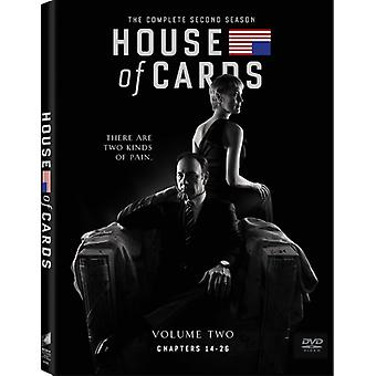 House of Cards: andre sesong [DVD] USA import