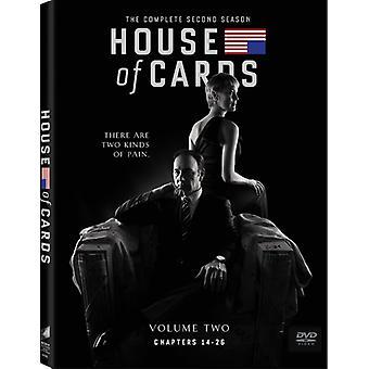 Korthus: komplet anden sæson [DVD] USA importen