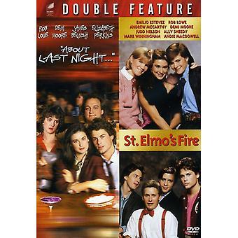 Sur la feu de dernière nuit/Saint-Elme [DVD] USA import