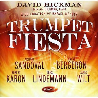 David Hickman - trompet Fiesta: A Celebration af Rafael Mendez [CD] USA import