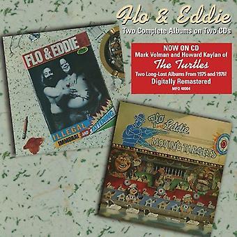 Flo & Eddie - Illegal Immoral & Fattening/Moving Ta [CD] USA import