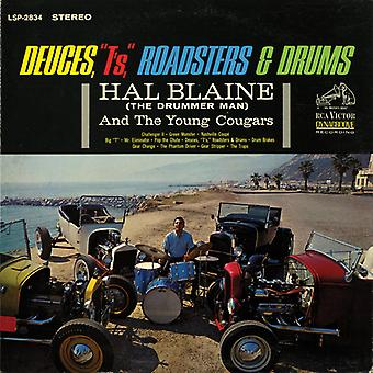 Hal Blaine - Deuces T's Roadsters & Drums [CD] USA import