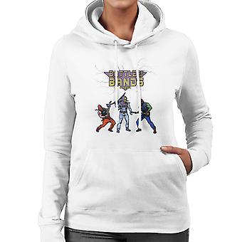 Battle Of The Bands Eternia Skeletor Women's Hooded Sweatshirt