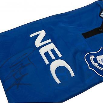 Everton Ferguson allekirjoitettu paita
