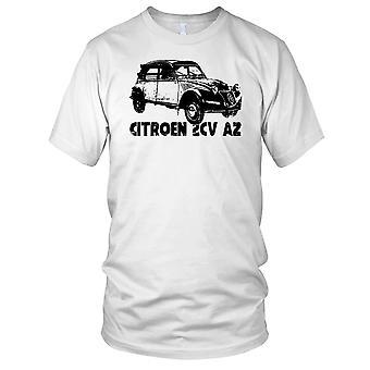 Citreon 2CV klassisk fransk bil Mens T-skjorte