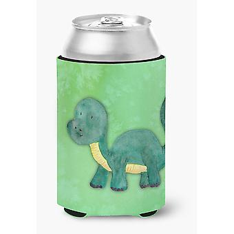 Carolines Treasures  BB7404CC Brontosaurus Watercolor Can or Bottle Hugger
