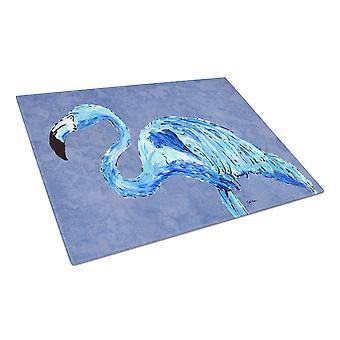 Carolineøerne skatte 8873LCB Flamingo på skifer blå glas skærebræt stor