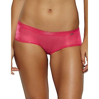 Gossard 6274 Women's Glossies Jazzy Pink Knicker Shorties Short Boyshort