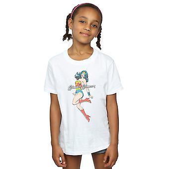 DC Comics Girls Wonder Woman Jump T-Shirt