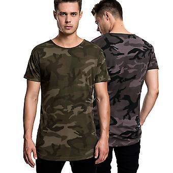 Urban classics - FORMADE lång tröja kamouflage