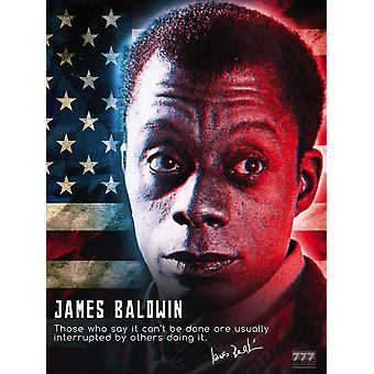 James Baldwin Poster It Can Be Done Classroom Quote (18x24)