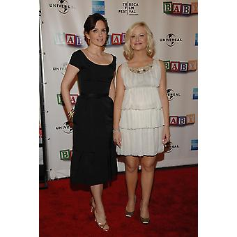 Tina Fey Amy Poehler At Arrivals For Baby Mama Premiere At Opening Night Of Tribeca Film Festival Clearview CinemaS Ziegfeld Theater New York Ny April 23 2008 Photo By Slaven VlasicEverett Collection