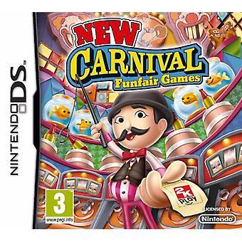 Nye karnevals spil (Nintendo DS)-fabriks forseglet