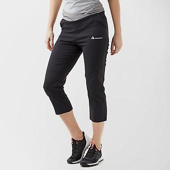 New Technicals Women's Training Fitness Vitality Cropped Pants Black
