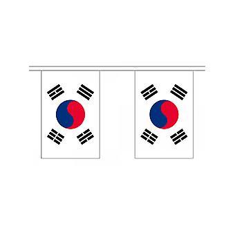 South Korea Bunting 6m 20 Flag