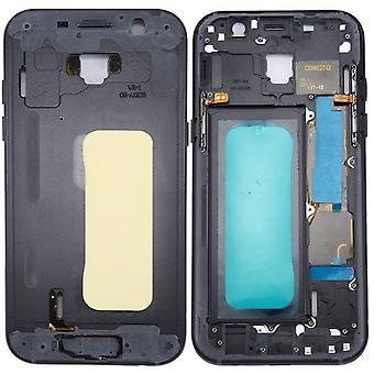 Bilancio vetro custodia per Samsung Galaxy A5 2017 A520F nero nuovo