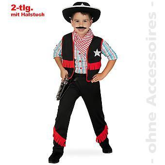 Xerife de vaqueiro vaca fantasia infantil de pastor