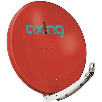 Schrapt, stabilisatie-en associatieovereenkomst 85-03 SAT antenne 85 cm reflecterend materiaal: Aluminium baksteen rood