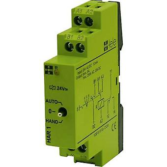 tele HAR1 24 V/AC/DC Industrial relay Nominal voltage: 24 V DC, 24 V AC Switching current (max.): 5 A 1 change-over 1 pc(s)