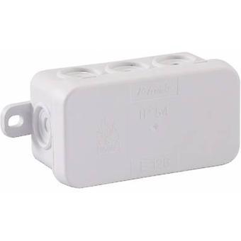 GAO 5229 Junction box (L x b x H) 75 x 40 x 37 mm lys grå IP54