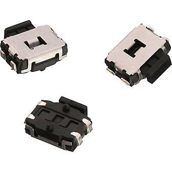 Würth Elektronik WS-TUS 436333045822 Druckknopf 12 V DC 0,05 A 1 x Aus/(Ein) momentan 1 Stk.(s)