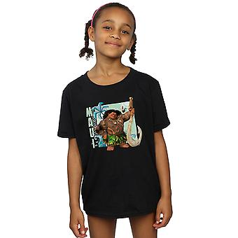 Disney Girls Moana Maui T-Shirt