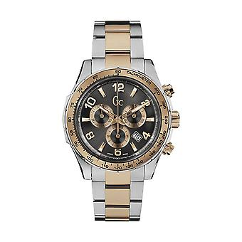 GC X51004G5S Mens Two-Tone Chronograph Swiss Watch