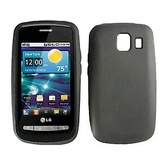 Verizon Silicon Skin Case pour LG Vortex VS660 - Noir
