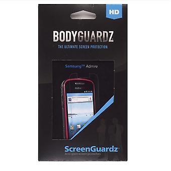 Samsung Admire SCH-R720 için Anti-Glare ile ScreenGuardz+HD Ekran Koruyucu (2'li Paket)