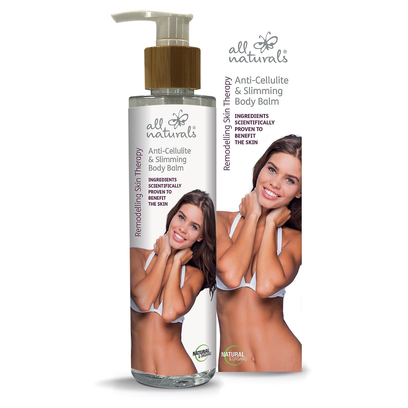 Anti-Cellulite & Slimming Organic Body Balm. Remodelling Skin Therapy. 200ml