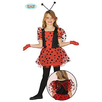 Ladybug child costume dress for girls Carnival Carnival insect