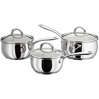 Judge Classic, 3 Piece Saucepan Set