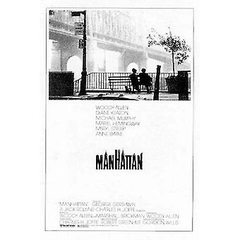 Manhattan Poster  Woody Allen