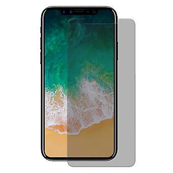Apple iPhone X / XS Blickschutz Panzer Schutz Glas Anti-Spy Glasfolie 9H - 1 Stück